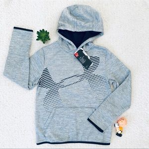 Under Armour Gray Cold Gear Hoodie Medium New Tag